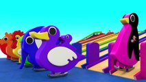 Cartoon Toy Cars Race Tracks Toy Set 3D