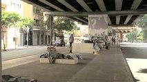 انتشار آلاف المشردين في ساو باولو البرازيلية مركز انتشار كورونا