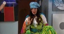 Reyna decidió animar a nana Bertha con un divertido show