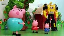 """Peppa Pig En Español """"¡Transformers al rescate-"""", Vídeos Pepa la cerdita"""