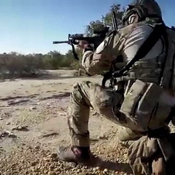Special Warfare Airmen Team up with Marines for Live-Fire Exercise