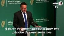 Coronavirus: l'Irlande impose un confinement de 15 jours