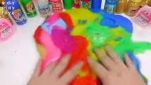 DIY Learn Colors Slime Ice Cream Combine Slime All Colors Case Toys For Kids