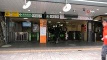 - Japonya'nın başkenti Tokyo'da sakin hafta sonu- Halk tavsiyelere uydu, metropolde sokaklar boş...