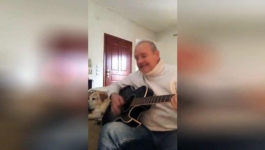 Ο Τάκης Νερολής τραγουδά για τον κορονοϊό