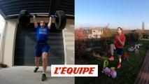 Pour l'entraînement à la maison, Renaud Lavillenie revient en deuxième semaine - Athlé - WTF