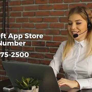 Microsoft App Store Customer Support Service (1-315-275-25OO) Contact Phone Number