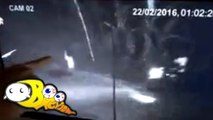 Ghost SCARES Man on Motorcycle? - Ghost Caught On CCTV Camera