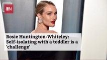 Rosie Huntington-Whiteley Handles Her Toddler