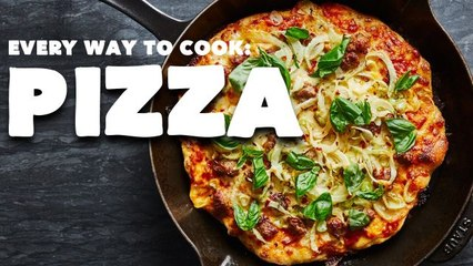 Every Way to Make Pizza (32 Methods)