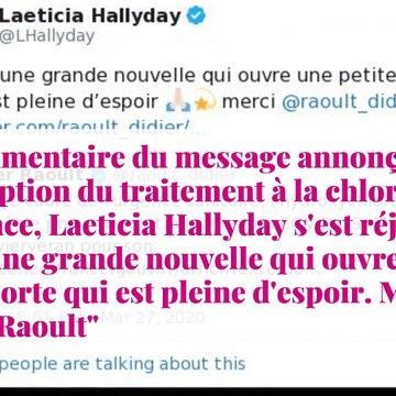 Laeticia Hallyday : son soutien inattendu au professeur Didier Raoult