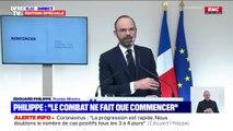 """Édouard Philippe: """"Je ne laisserai personne dire qu'il y a eu du retard sur la prise de décision s'agissant du confinement"""""""