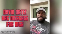 David Ortiz Has Uplifting Message For MGH