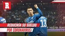 Cristiano Ronaldo habría accedido a una reducción en su salario por el COVID-19