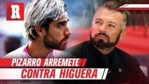 Pizarro respondió a Higuera: 'Eres el más odiado y el que menos sabe de futbol'