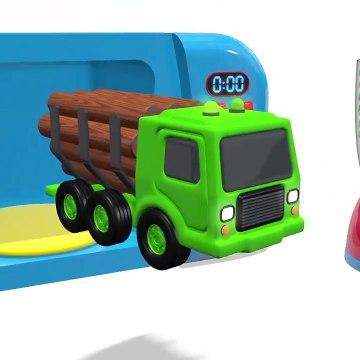 Kids Toy Videos US - ¡Aprende los colores! Videos educativos para niños Learn Colors in English and Spanish