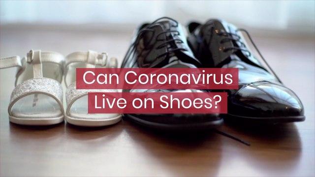 Coronavirus And Shoes