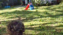 Dad Makes Obstacle Course in Backyard For Kids Amid Coronavirus Lockdown