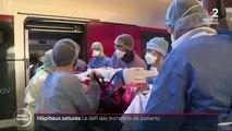 Coronavirus: le défi des transferts de patients