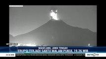 Gunung Merapi Kembali Erupsi pada Sabtu Malam