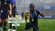 Born this day - N'Golo Kante turns 29