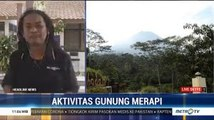 Pascaerupsi, Gunung Merapi Masih Keluarkan Asap Solfatara
