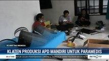 Warga Klaten Ini Produksi APD Sendiri dan Dibagi Gratis ke 60 RS di Indonesia