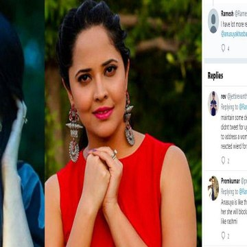 Netizen Bad Words On Anasuya, Rashmi Gautam Counter