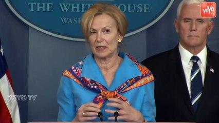 White House Coronavirus Task Force Holds News Briefing - Donald Trump - USA
