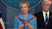 White House Coronavirus Task Force Holds News Briefing - Donald Trump - USA