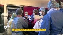 Coronavirus : des patients transférés pour désengorger certains hôpitaux