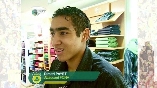 Quand Dimitri Payet hésitait entre le FC Nantes et le prêt-à-porter