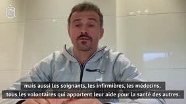 """Coronavirus - Luis Enrique : """"Important de suivre les règles"""""""