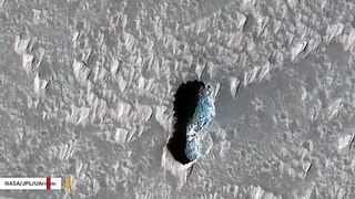 Intriguing 'Shoeprint' Spotted On Mars