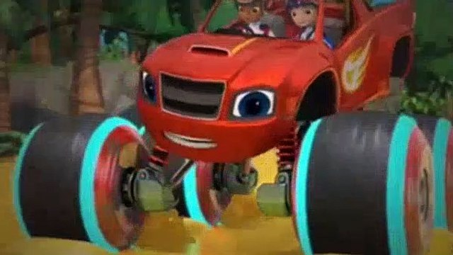 Blaze And The Monster Machines S04E10 Power Tires