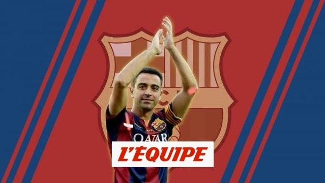 Xavi, 25 trophées gagnés avec le Barça - Foot - ESP