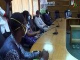 RTB/ Lutte contre le Covid 19 - La société Biomedicalis Systems et Sysmex Burkina font un geste de 20 millions au ministère de la santé pour la lutte contre le coronavirus