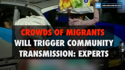 Crowds of migrants will trigger community transmission- experts-New