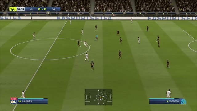 OL - OM : notre simulation FIFA 20 (L1 - 33e journée)