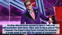 Coronavirus- Elton John to host TV benefit concert with Billie Eilish, Backstreet Boys, more