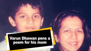 Varun Dhawan pens a poem for his mom