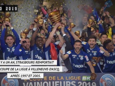 Il y a un an - Une, deux, et trois Coupes de la Ligue pour Strasbourg !