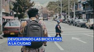 Promocionando el uso de la bicicleta en Colombia