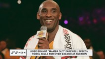 Kobe Bryant towel sells for over $30,000 at auction
