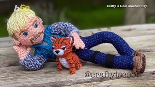 You Should Attempt to Make These Crochet 'Tiger King' Dolls