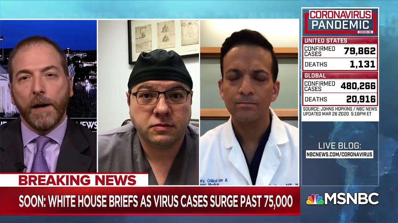 Breaking News America Passes Italy In Total Coronavirus Cases _ MTP D