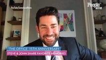 The Office Reunion! John Krasinski and Steve Carell Reflect on Show's 15th Anniversary