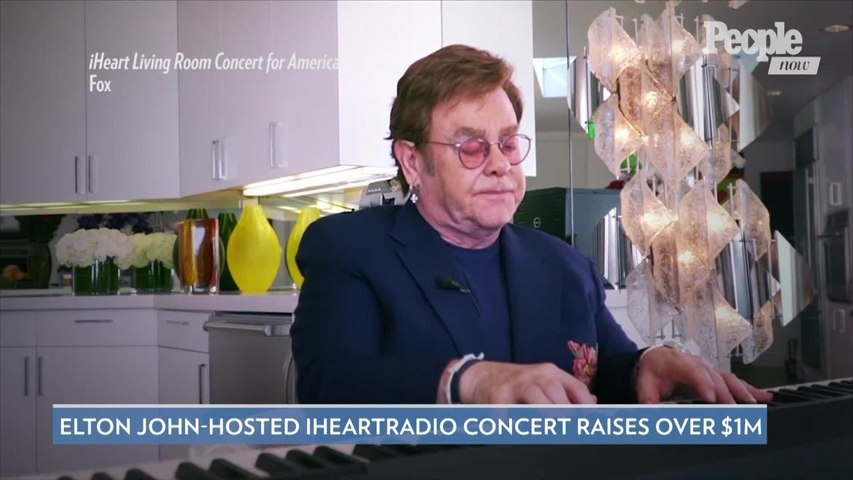 Elton John-Hosted iHeartRadio Concert Raises Over $1 Million for Food Banks and First Responders
