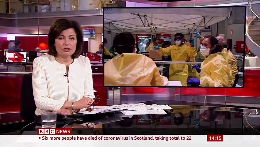 Breaking News Coronavirus – Spain's death toll surpasses China'