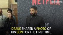 Drake Shares First Photos of His Son